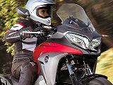 Honda présente le VFR 800 X Crossrunner 2015.