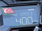 Les 400 km/h en Kawasaki H2R, c'est fait !!!