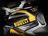 MV-Agusta présente la série spéciale Dragster 800 RR Pirelli.