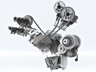 Ducati présente le V4 de la prochaine Multistrada.