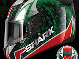 Shark présente son nouveau casque Speed-R Sykes Replica.