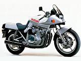 1981 - Suzuki présente la GSX 1100 S Katana.