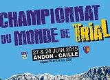 Escale française pour le Championnat du Monde de Trial.