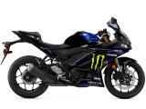 La Yamaha R3 passe aussi au coloris MotoGP Monster.
