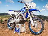 Une Yamaha WR 250 F optimisée à la sauce YZ-F pour 2020.