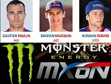 Voici l'Equipe de France du Motocross des Nations 2015.