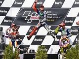 MotoGP - Lorenzo fait cavalier seul à Brno. Nouveaux podiums pour Márquez et Rossi.