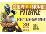 Coupe du Monde de Pitbike (+  FMX +  tatouage + rock) le 26 mars à Tours !