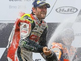 MotoGP - Cal Crutchlow remporte son premier Grand Prix à Brno ! Baz 4ème.