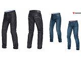 Dix jeans dans la collection Dainese 2015.