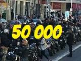 Manif' - Nous étions plus de 50 000 motards ! Ségolène Royal réagit.