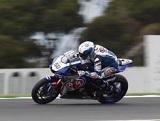 WSBK / Phillip Island J1 - Guintoli et Yamaha déja devant.