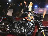 Une Harley-Davidson Fat Boy adjugée 145 000 euros aux enchères.