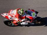 MotoGP / Valence FP3 - Iannone en tête avant les qualifs. Rossi deuxième.