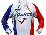 La FFM dévoile son maillot pour le Motocross des Nations.