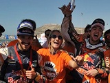 Rallye du Maroc - Victoire pour Sunderland. Titre pour Walkner.