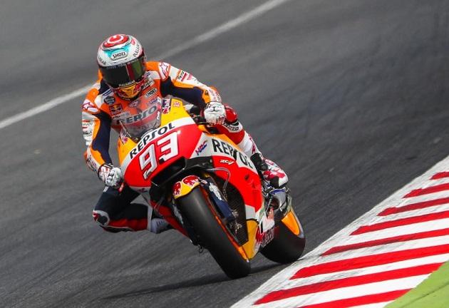 MotoGP / Catalogne J1 - Márquez s'installe en tête
