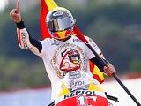 Marc Márquez, plus jeune Champion du Monde de l'histoire de la catégorie reine.