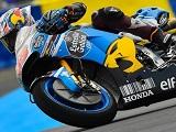 MotoGP / Mans FP2 - Dovizioso s'illustre sous la pluie.