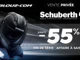 Les casques Schuberth en grosse promo chez Motoblouz.