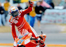 MotoGP/Italie - Victoire historique de Casey Stoner au Mugello !
