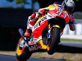 MotoGP / Phillip Island Test J1 - Márquez devance Rossi.