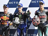 MotoGP / Saint Marin - Viñales renoue avec la pole. Quartararo en 1ère ligne.