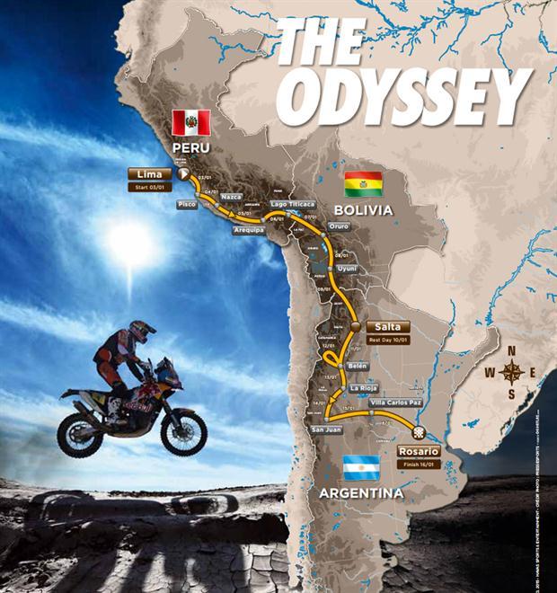 Le Pérou renonce au Dakar 2016.