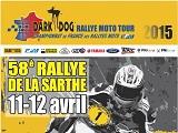 La Dark Dog Rallye Moto Tour arrive dans la Sarthe.