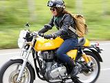 La moto de plus en plus tendance et appréciée.