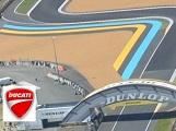 Nouvelle tribune et nouvelle Loge Ducati pour le Grand Prix de France 2016.