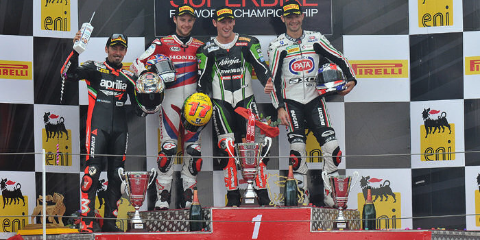 WSBK-race-podium-magny-cours