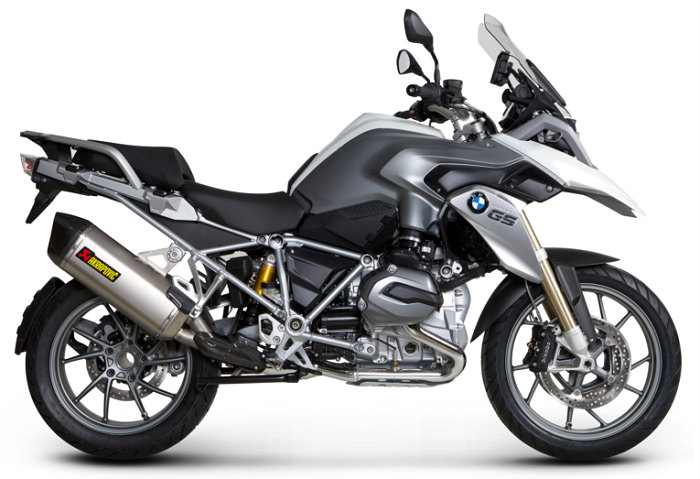 nouveau silencieux akrapovic pour bmw r 1200 gs 2013 actualit moto. Black Bedroom Furniture Sets. Home Design Ideas
