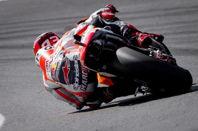 motogp valence fp1 marquez m ne la premi re s ance actualit moto. Black Bedroom Furniture Sets. Home Design Ideas