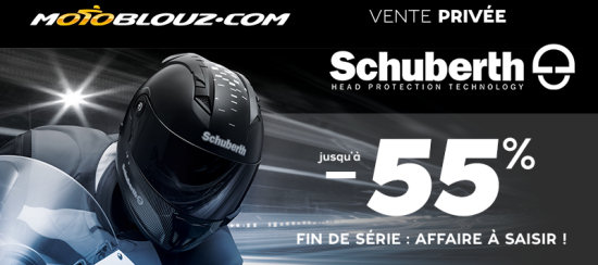 les casques schuberth en grosse promo chez motoblouz actualit moto. Black Bedroom Furniture Sets. Home Design Ideas