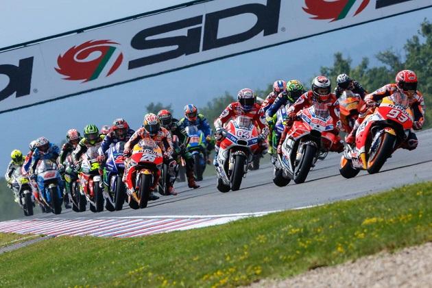 MotoGP : Dovizioso meilleur temps du warm-up en Autriche