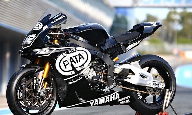 premi re sortie pour le team yamaha wsbk 2016 actualit moto. Black Bedroom Furniture Sets. Home Design Ideas