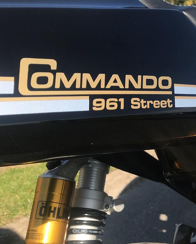 Norton 961 Commando Street 2019 - 3