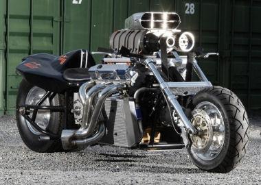 PHOTO - Le plus gros VN du monde Rapom-V8