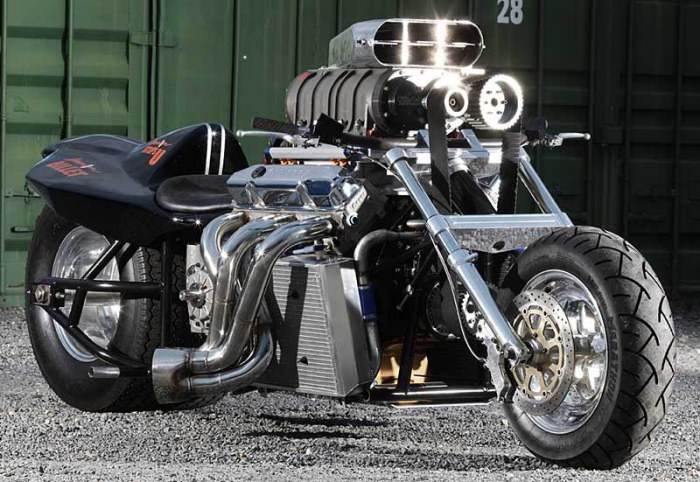 Record de vitesse moto
