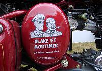Royal-Enfield Bullet 500 Classic Blake et Mortimer