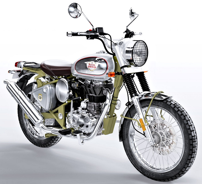 Royal-Enfield Bullet 500 Trials Works Replica