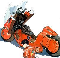 Spécial AKIRA - moto de Kaneda
