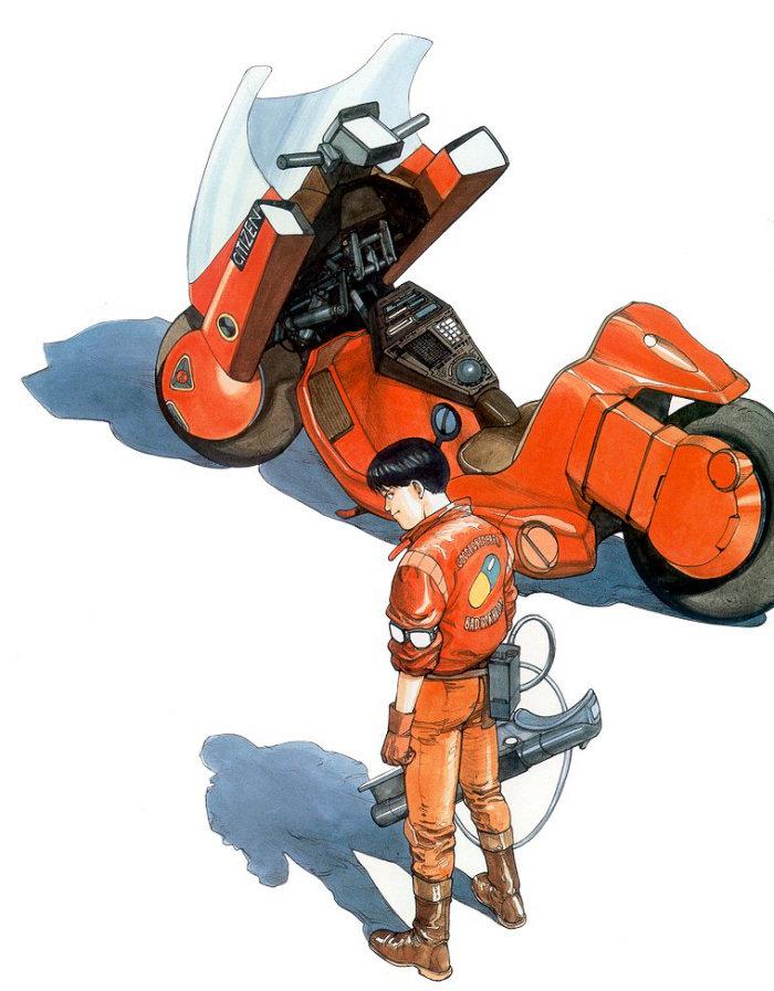 Spécial AKIRA - moto de Kaneda 2019 - 3