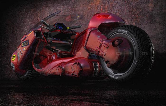 Spécial AKIRA - moto de Kaneda 2019 - 10