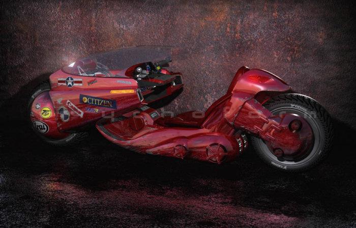 Spécial AKIRA - moto de Kaneda 2019 - 14