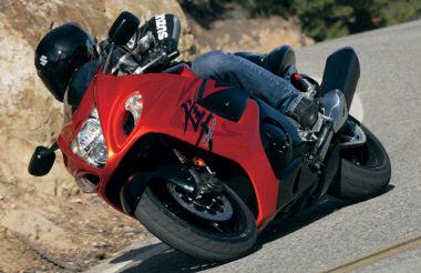 moto Suzuki 1300 GSX-R Hayabusa 2008