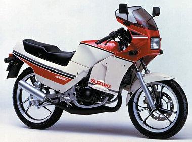 Suzuki RG 125 Gamma