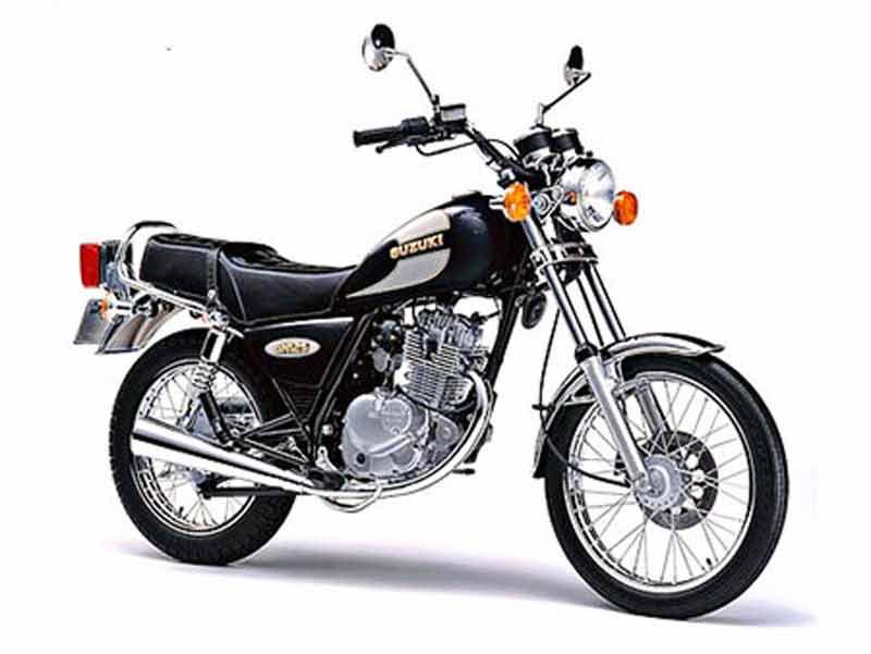 Suzuki 125 GN 1987 - 3