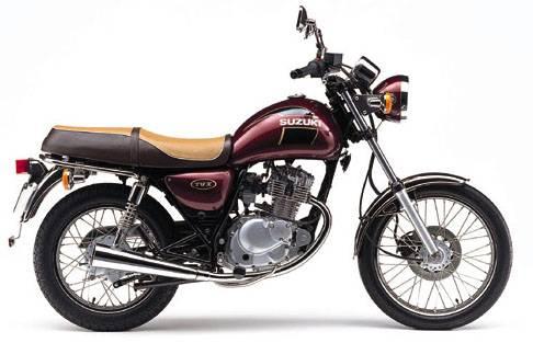 Suzuki 125 TU X super classic 1999 - 4